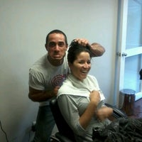 Photo taken at Hair Studio by mario v. on 5/5/2012