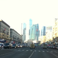 Photo taken at Большая Дорогомиловская улица by Tatiana B. on 11/25/2011