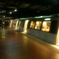 Photo taken at Farragut North Metro Station by Willie B. on 6/14/2012