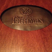 Photo taken at Nine Fine Irishmen by Joel C. on 6/2/2012