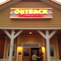 Photo taken at Outback Steakhouse by Cynthia H. on 1/10/2012