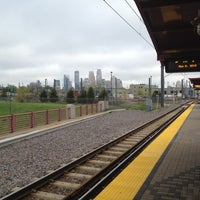 Photo taken at Franklin Avenue LRT Station by Jeffrey S. on 5/2/2012