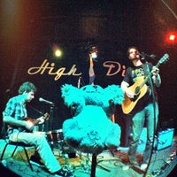 Photo taken at High Dive by Mega T. on 10/21/2011