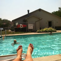 Photo taken at Sawmill Woods Condos Pool by Krystal S. on 7/1/2012