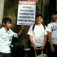 Photo taken at National Shrine of the Divine Mercy by Ako Si M. on 3/18/2012