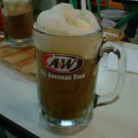 Photo taken at A&W by Farah Y. on 3/3/2012