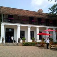 Photo taken at Rachamankha Flora House Chiang Mai by Demonball B. on 5/18/2012