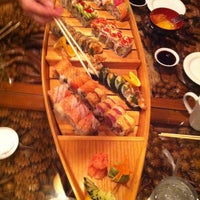 Photo taken at Sushi Thai by Mary L. on 3/17/2012