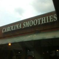 Photo taken at Carolina Smoothies by LitigationAtty D. on 7/3/2012