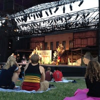 Photo taken at Shawnee Mission Theater In The Park by Ben A. on 7/21/2012