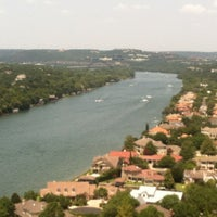 Photo taken at Covert Park at Mt. Bonnell by Jacob S. on 8/11/2012