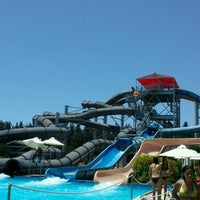 Photo taken at Fasouri Watermania Waterpark by Eleuteria on 7/12/2012
