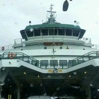 Photo taken at Bainbridge Island Ferry Terminal by D Elizabeth C. on 5/5/2012