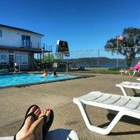 Photo taken at Sunset Motel & Resort by Gyan on 8/20/2012