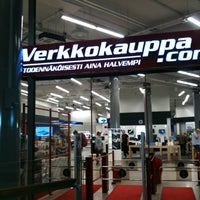 Photo taken at Verkkokauppa.com by eTurismi F. on 8/9/2012