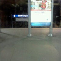 Photo taken at South Campus LRT Station by Don P. on 3/26/2012