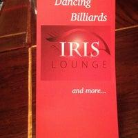 Photo taken at Iris Lounge by Tina C. on 4/21/2012