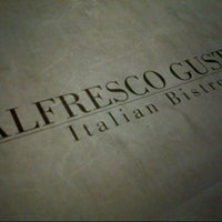 Photo taken at Alfresco Gusto Italian Bistro by Anfernee T. on 8/8/2012
