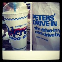 Photo taken at Peters' Drive-In by WillIam on 9/3/2012