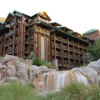 Photo taken at Disney's Wilderness Lodge by Mary R. on 8/15/2011