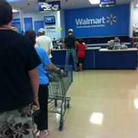 Photo taken at Walmart Supercenter by Karyn M. on 8/1/2012