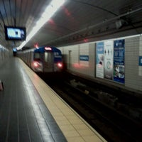 Photo taken at Exchange Place PATH Station by Rob C. on 10/18/2011