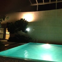 Photo taken at Crescent Rooftop Swimmimg Pool by BeenaColada on 9/11/2012