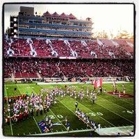Photo taken at Stanford Stadium by John H. on 9/1/2012