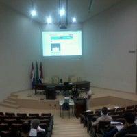 Photo taken at Auditorio da Reitoria by Ronald R. on 7/25/2012