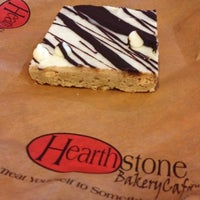 Photo taken at Hearthstone Bakery And Cafe by Mayra on 8/16/2012