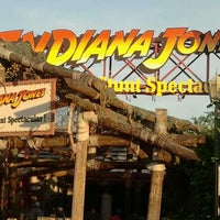 Photo taken at Indiana Jones Epic Stunt Spectacular! by Tati R. on 2/1/2012