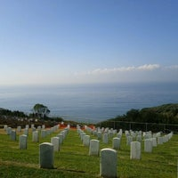 Photo taken at Fort Rosecrans National Cemetery by Gregory C. on 12/15/2011