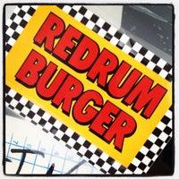 Photo taken at Redrum Burger by matt c. on 1/29/2012