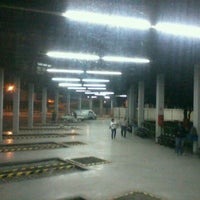 Photo taken at Terminal Rodoviário Miguel Mansur by Antonio Bruno C. on 1/4/2012