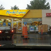 Photo taken at Tim Hortons / Esso by p L. on 8/10/2012