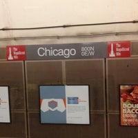 Photo taken at CTA - Chicago (Red) by Jeremy K. on 8/12/2012
