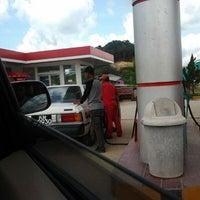 Photo taken at Pom bensin balai karangan by Isnie R. on 2/4/2012