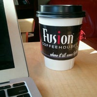 Photo taken at Fusion Coffeehouse by Keith P. on 12/2/2011