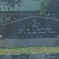 Photo taken at Masjid Al-Hasanah by Mohammad Z. on 10/3/2011