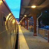 Photo taken at LIRR - Huntington Station by Jayson H. on 5/23/2012
