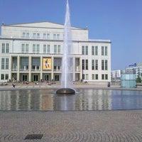 Photo taken at Augustusplatz by Christian S. on 4/20/2011