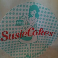 Photo taken at SusieCakes by Belinda B. on 3/9/2012