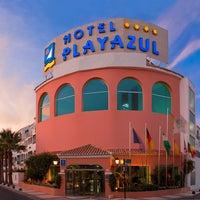 Photo taken at Diverhotel Roquetas 4* by Playa Senator Hoteles on 8/9/2011