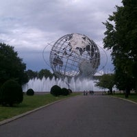 Photo taken at The Unisphere by Daniel S. on 9/17/2011