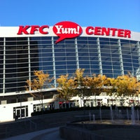 Photo taken at KFC Yum! Center by Michael P. on 11/1/2011
