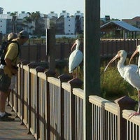 Photo taken at South Padre Island Birding & Nature Center by Richard G. on 10/6/2011