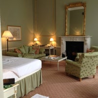 Photo taken at Merrion Hotel by Aoife on 7/5/2012