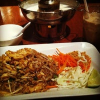 Photo taken at Opart Thai House Restaurant by Osmaan A. on 1/25/2012