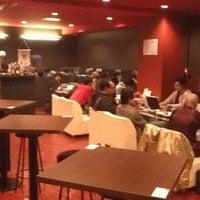 Photo taken at まるでだめなおとなの Cafe&Bar (まだおカフェ) by Mitsuhiro T. on 1/9/2012