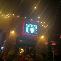 Photo taken at American Junkie by C R. on 3/10/2011